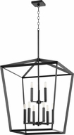 Quorum 6809-9-69 Manor Contemporary Noir Foyer Light Fixture