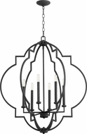 Quorum 6842-6-69 Dublin Modern Noir Foyer Lighting Fixture