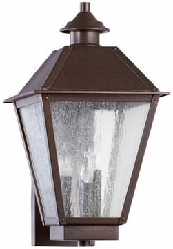 Quorum 7024-3-86 Emile Oiled Bronze Outdoor Wall Mounted Lamp