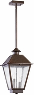 Quorum 7025-3-86 Emile Oiled Bronze Exterior Pendant Light