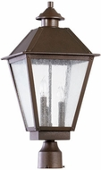 Quorum 7026-3-86 Emile Oiled Bronze Outdoor Post Lamp