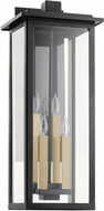 Quorum 7027-4-69 Westerly Noir Outdoor Wall Sconce Light