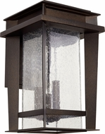 Quorum 7040-3-86 Easton Mission Oiled Bronze Exterior Wall Mounted Lamp