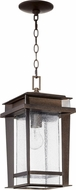 Quorum 7041-1-86 Easton Mission Oiled Bronze Mini Hanging Light