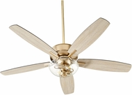 Quorum 7052-280 Breeze Aged Brass LED 52 Home Ceiling Fan