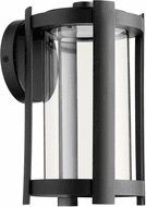 Quorum 709-11-69 Solu Contemporary Noir LED Outdoor 11  Wall Light Fixture