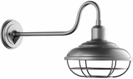 Quorum 7119-3 Tansley Nautical Graphite Outdoor Lighting Sconce