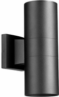 Quorum 720-2-69 Cylinder Contemporary Noir Outdoor 4.25  Lighting Sconce