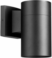 Quorum 720-69 Cylinder Contemporary Noir Outdoor 4.25  Lighting Wall Sconce
