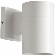 Quorum 720-8 Cylinder Modern Studio White Exterior 4.25  Wall Lighting Sconce