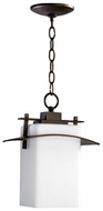 Quorum 7201-9-86 Kirkland Oiled Bronze Outdoor Pendant Light Fixture