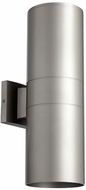 Quorum 721-2-3 Cylinder Modern Graphite Exterior 5.75  Wall Mounted Lamp