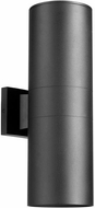 Quorum 721-2-69 Cylinder Contemporary Noir Outdoor 5.75  Wall Light Sconce