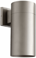 Quorum 721-3 Cylinder Modern Graphite Exterior 5.75  Wall Sconce Light
