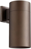 Quorum 721-86 Cylinder Contemporary Oiled Bronze Outdoor 5.75  Wall Lighting