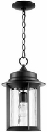 Quorum 7247-9-69 Charter Noir Exterior Pendant Lighting Fixture