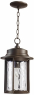 Quorum 7247-9-86 Charter Oiled Bronze Outdoor Hanging Pendant Lighting