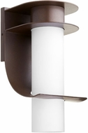 Quorum 751-86 Downing Contemporary Oiled Bronze Outdoor 8  Lighting Wall Sconce
