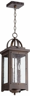 Quorum 758-3-86 Riverdale Oiled Bronze Outdoor Pendant Lighting