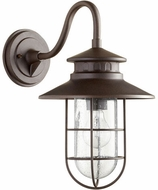 Quorum 7697-86 Moriarty Nautical Oiled Bronze Outdoor 9.5 Wall Light Sconce