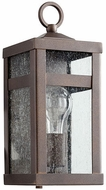 Quorum 772-86 Clermont Oiled Bronze Outdoor Lighting Wall Sconce