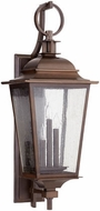Quorum 7730-3-86 Pavilion Oiled Bronze Outdoor Wall Sconce Lighting