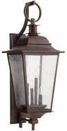 Quorum 7730-4-86 Pavilion Oiled Bronze Outdoor Wall Light Sconce