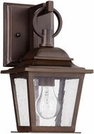 Quorum 7730-86 Pavilion Oiled Bronze Outdoor Wall Light Sconce