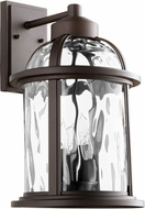 Quorum 7760-4-86 Winston Oiled Bronze Exterior 10.75  Lighting Wall Sconce