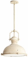 Quorum 814-20-70 Hinge Modern Persian White Pendant Lamp
