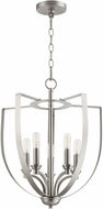 Quorum 8202-5-65 Dakota Contemporary Satin Nickel Foyer Lighting