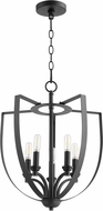 Quorum 8202-5-69 Dakota Contemporary Noir Foyer Light Fixture