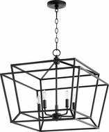 Quorum 8407-5-69 Monument Modern Noir Foyer Light Fixture