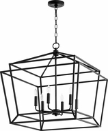 Quorum 8407-6-69 Monument Modern Noir Foyer Light Fixture
