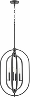 Quorum 8610-4-69 Modern Noir 16  Entryway Light Fixture