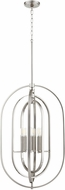 Quorum 8610-6-65 Contemporary Satin Nickel 20  Foyer Lighting
