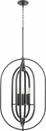 Quorum 8610-6-69 Contemporary Noir 20  Foyer Light Fixture