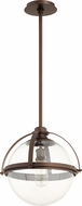 Quorum 88-15-86 Contemporary Oiled Bronze Pendant Hanging Light