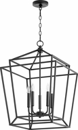 Quorum 8807-5-69 Monument Contemporary Noir Foyer Light Fixture