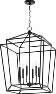 Quorum 8807-6-69 Monument Contemporary Noir Foyer Light Fixture