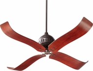 Quorum 90524-86 Jubilee Oiled Bronze w/ Distressed Vintage Walnut Blades 52  Home Ceiling Fan
