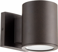 Quorum 920-86 Cylinder Contemporary Oiled Bronze LED Exterior Wall Lighting