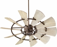 Quorum 95210-86 Windmill Contemporary Oiled Bronze 52  Home Ceiling Fan