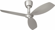 Quorum 97003-065-5236565124 Alpha Satin Nickel w/ Satin Nickel Blades Halogen 52  Home Ceiling Fan