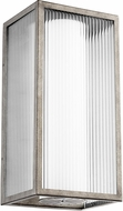 Quorum 9717-11-37 Maestro Modern Weathered Zinc LED Outdoor Wall Light Sconce