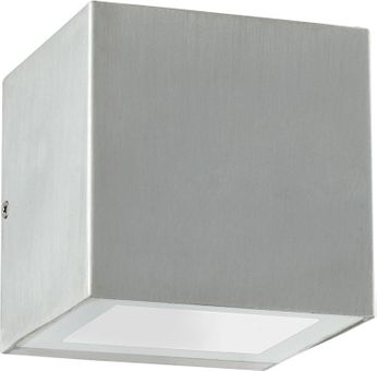 Quorum 977-16 Ion Contemporary Brushed Aluminum LED Outdoor Sconce Lighting