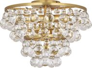 Robert Abbey 1002 Bling Contemporary Antique Brass Ceiling Lighting Fixture