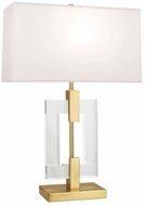 Robert Abbey 1011 Lincoln Modern Brass Table Lamp