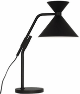 Robert Abbey 1252 Cinch Modern Matte Black Desk Lamp