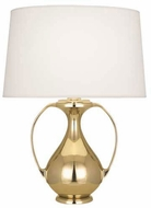 Robert Abbey 1370 Belvedere Contemporary Modern Brass Table Light